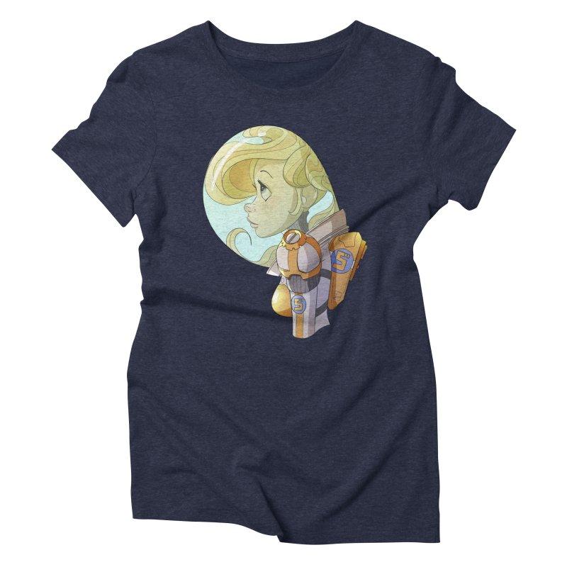 Spacegirl Women's Triblend T-shirt by noaheisenman's Shop