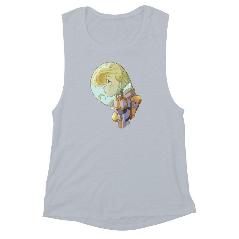 Spacegirl Women's Muscle Tank by noaheisenman's Shop