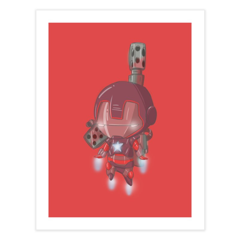 Iron Patriot Cheeb Home Fine Art Print by noaheisenman's Shop
