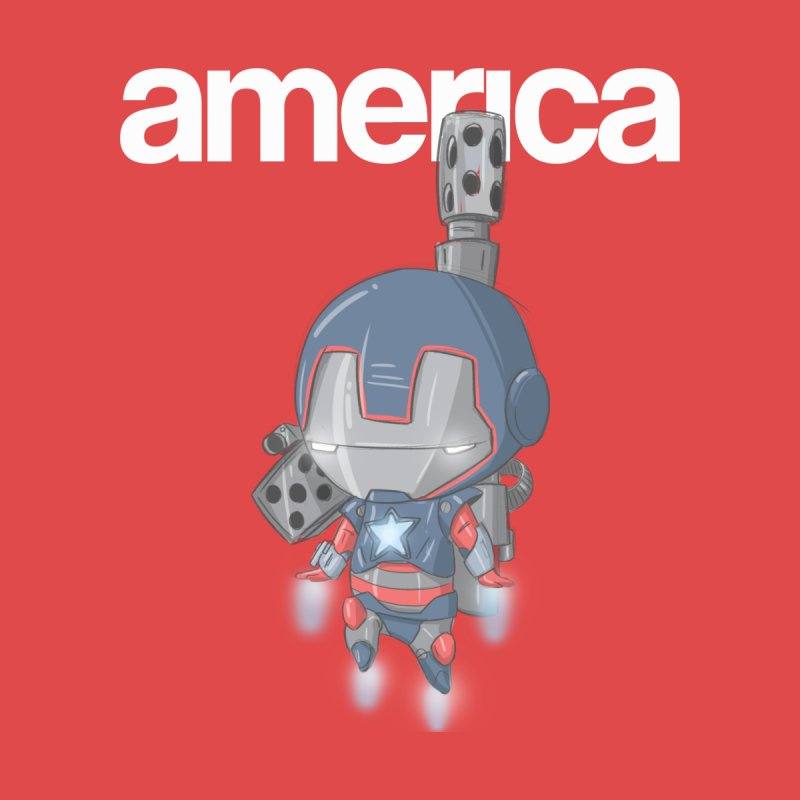 Iron Patriot Cheeb None  by noaheisenman's Shop