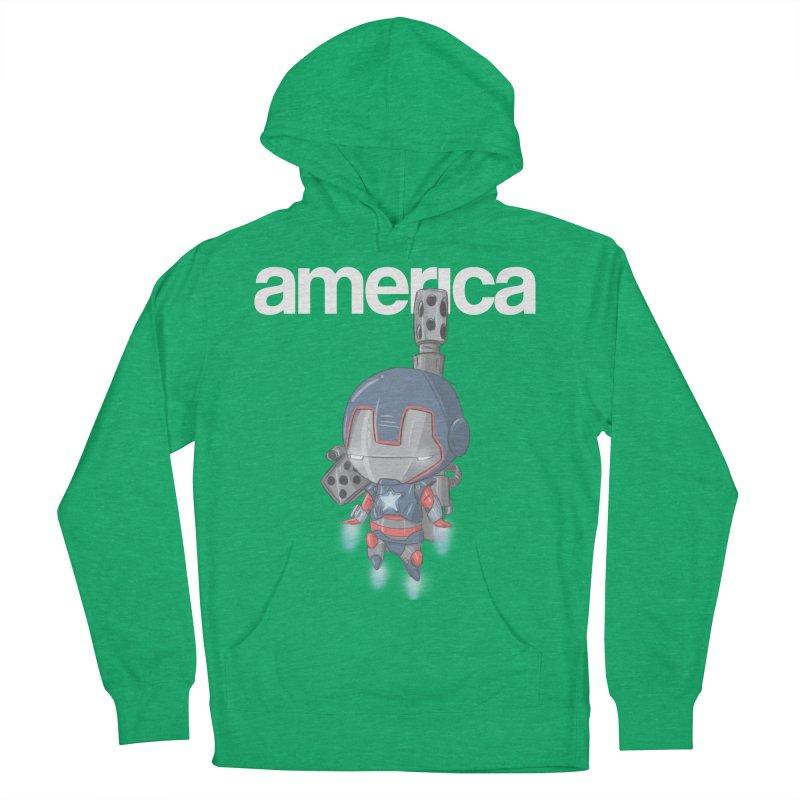 Iron Patriot Cheeb Women's Pullover Hoody by noaheisenman's Shop