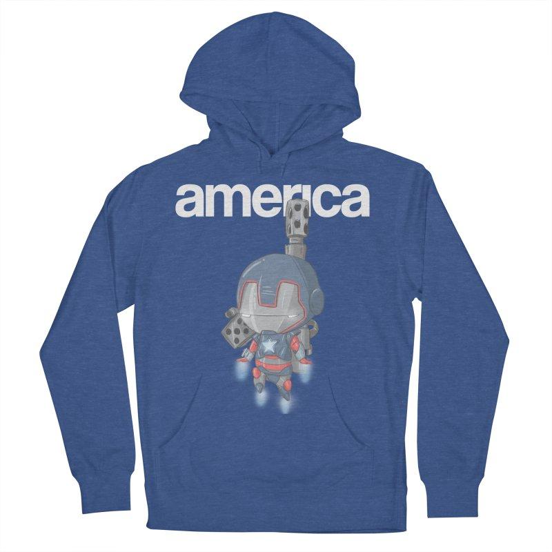 Iron Patriot Cheeb Men's Pullover Hoody by noaheisenman's Shop