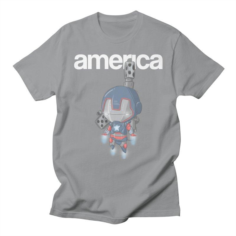 Iron Patriot Cheeb Men's T-shirt by noaheisenman's Shop