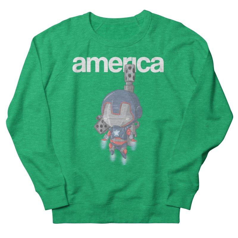 Iron Patriot Cheeb Women's Sweatshirt by noaheisenman's Shop