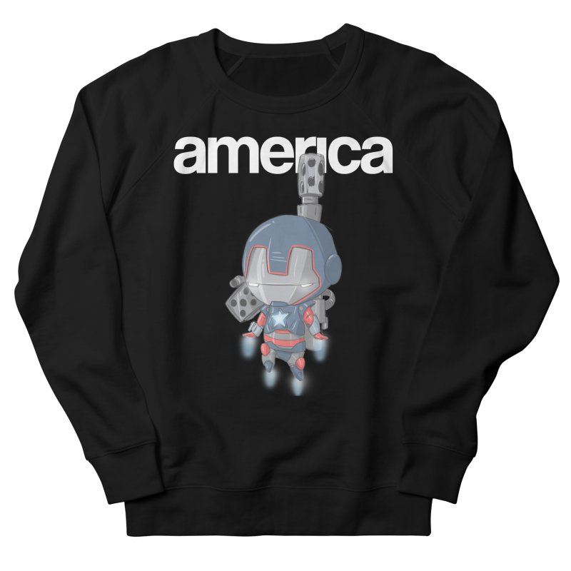 Iron Patriot Cheeb Women's Sweatshirt by noaheisenman's Shop