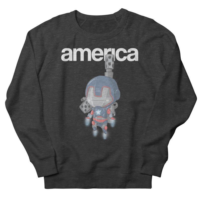Iron Patriot Cheeb Men's Sweatshirt by noaheisenman's Shop