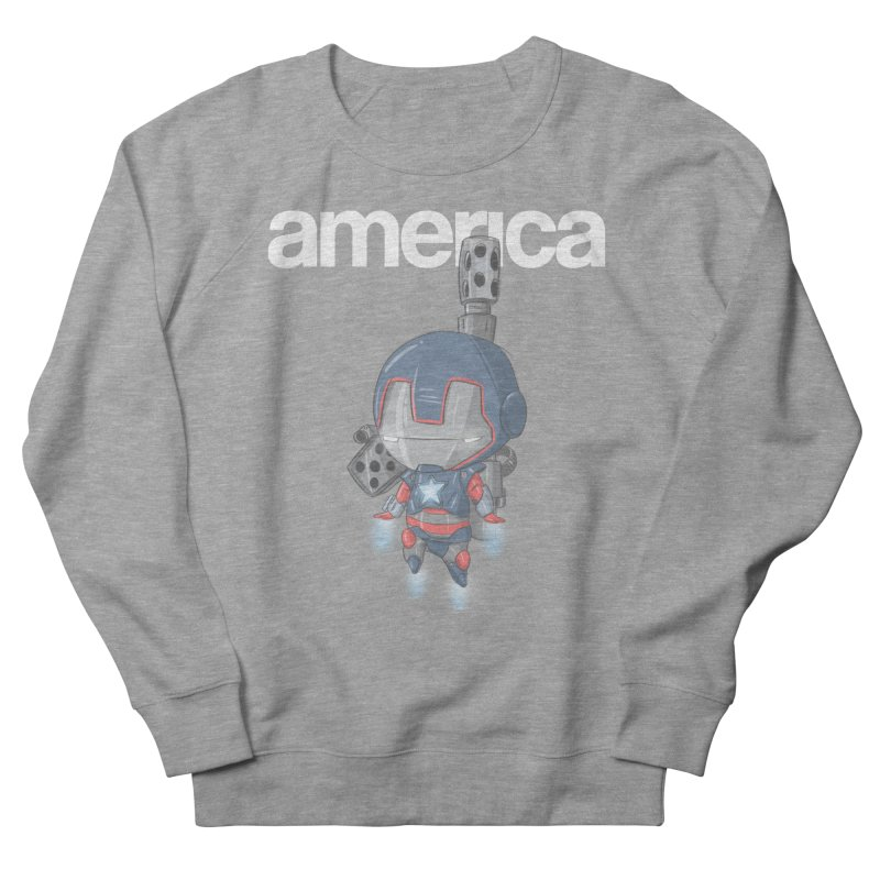 Iron Patriot Cheeb Men's Sweatshirt by noaheisenman's Shop
