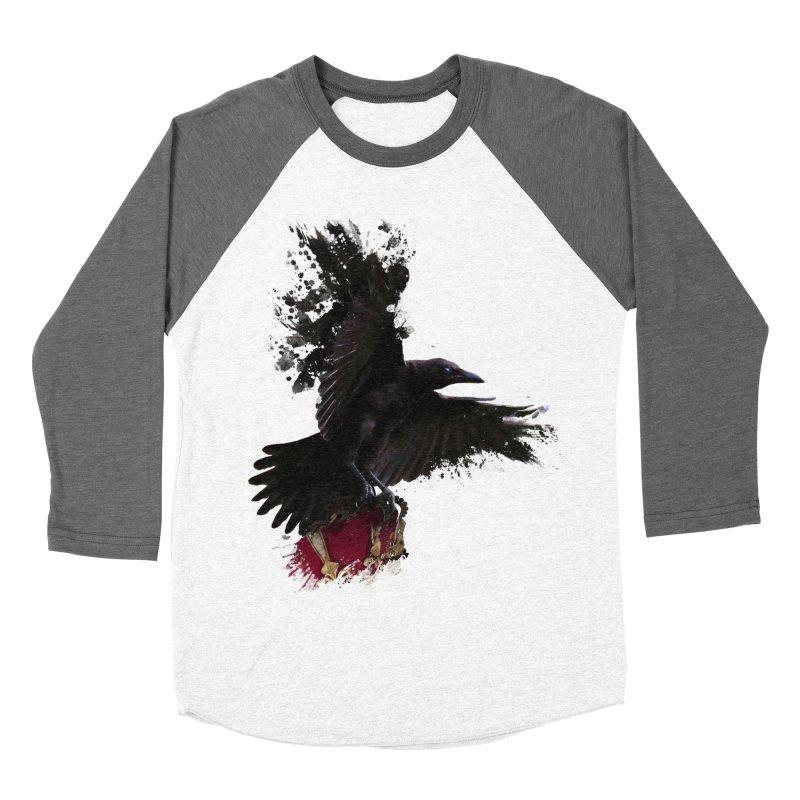 Crown Thief Men's Baseball Triblend Longsleeve T-Shirt by Shirts by Noc