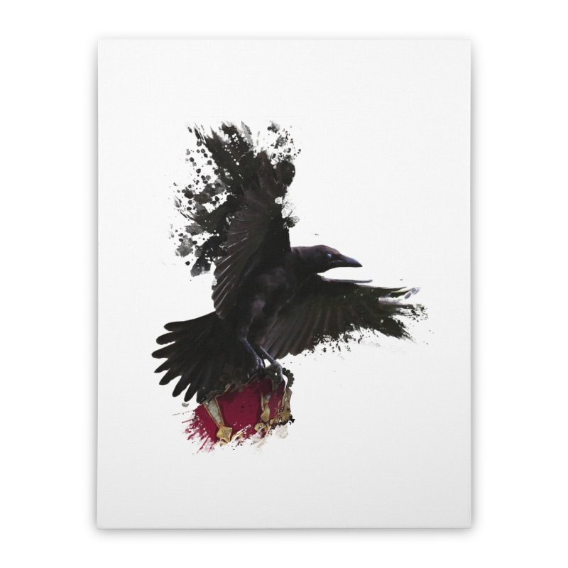 Crown Thief Home Stretched Canvas by Shirts by Noc