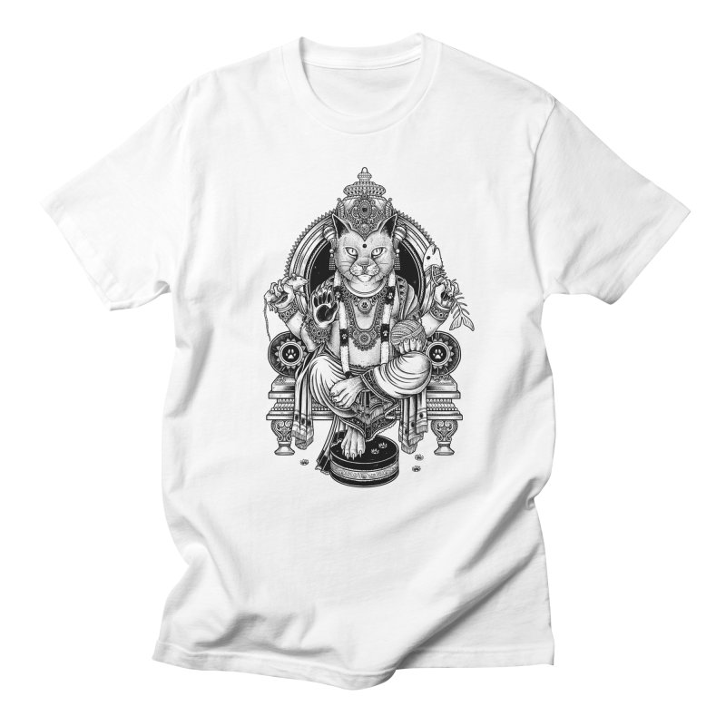 Cat Guru Deva Om Men's T-shirt by Michele_Nolli's Artist Shop