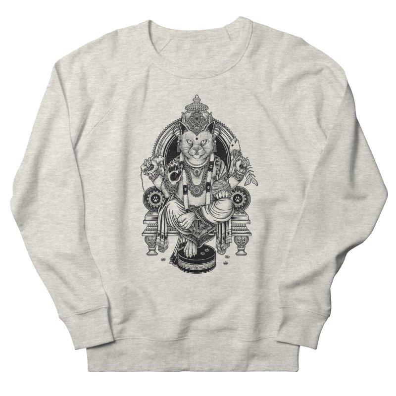 Cat Guru Deva Om Women's Sweatshirt by Michele_Nolli's Artist Shop