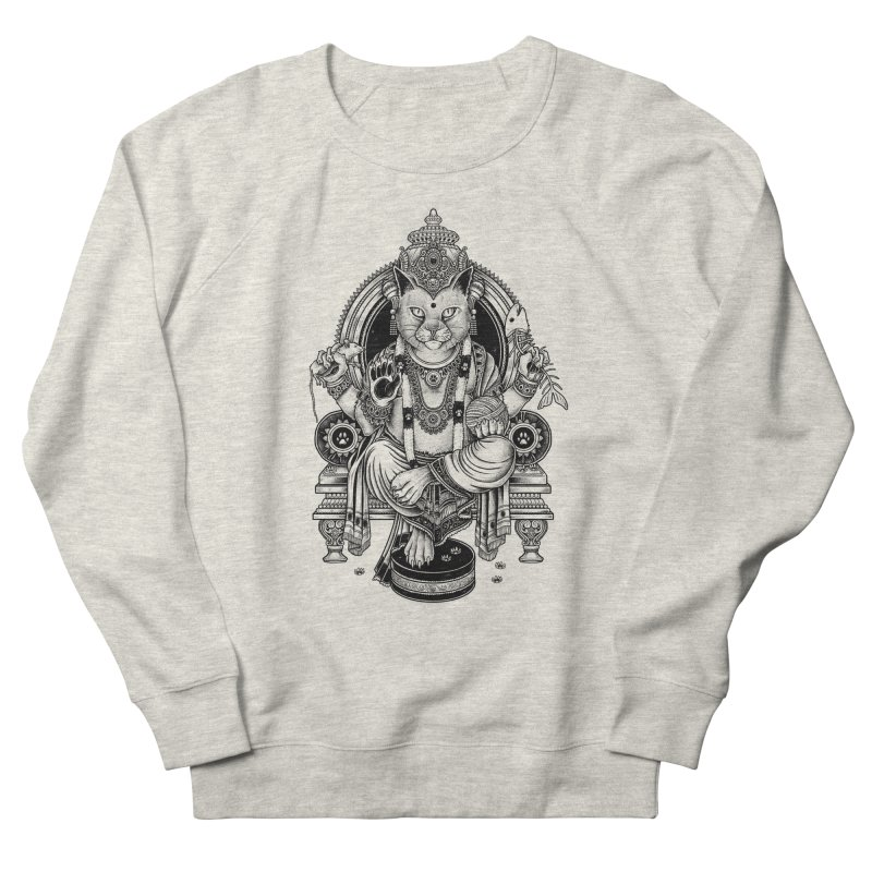 Cat Guru Deva Om Men's Sweatshirt by Michele_Nolli's Artist Shop