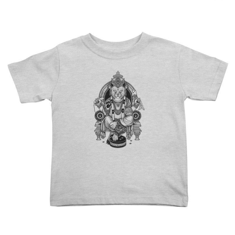 Cat Guru Deva Om Kids Toddler T-Shirt by Michele_Nolli's Artist Shop