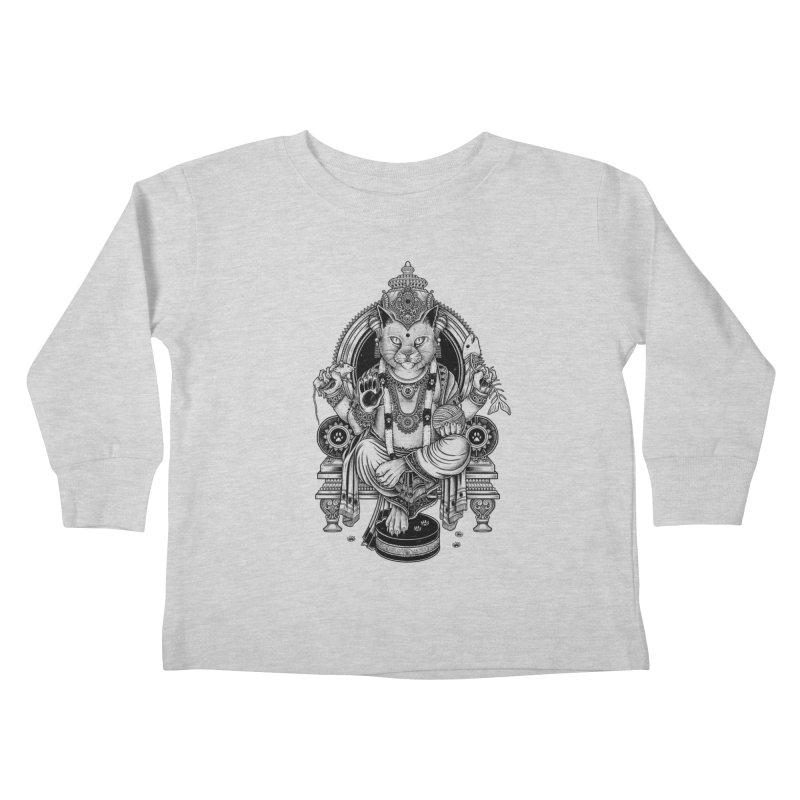 Cat Guru Deva Om Kids Toddler Longsleeve T-Shirt by Michele_Nolli's Artist Shop
