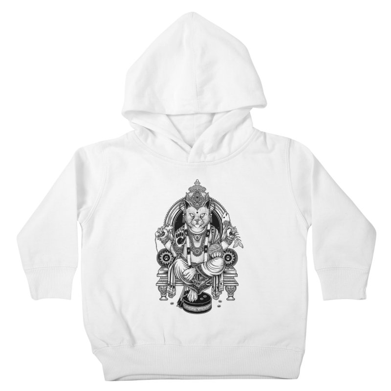 Cat Guru Deva Om Kids Toddler Pullover Hoody by Michele_Nolli's Artist Shop