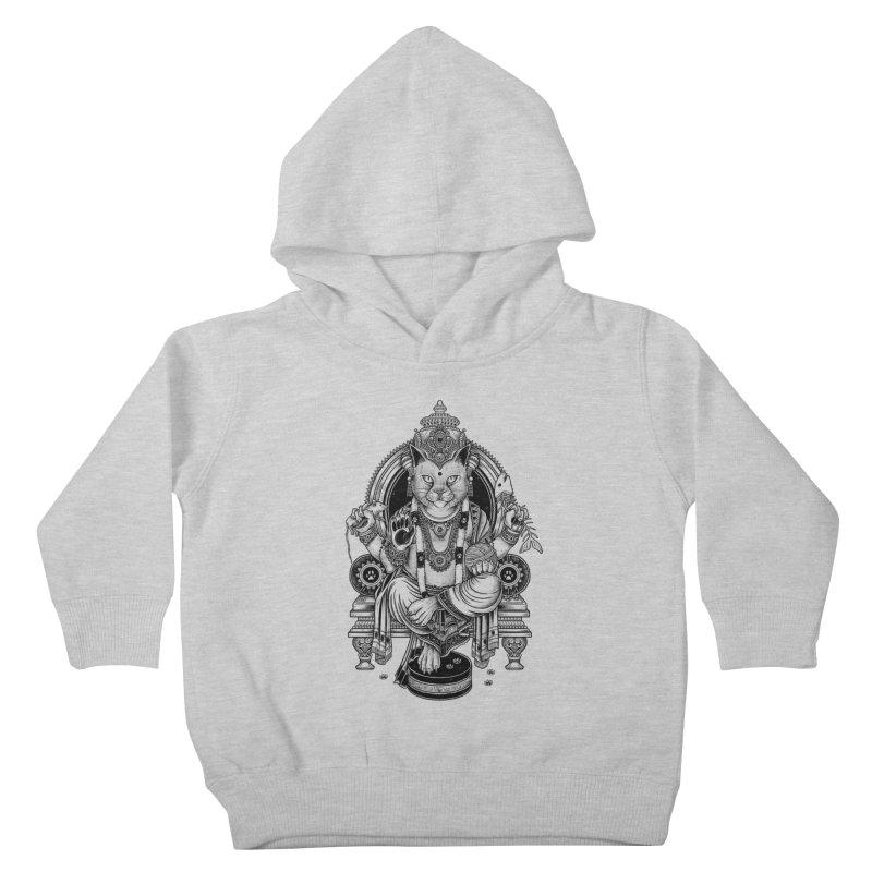 Cat Guru Deva Om Kids Toddler Pullover Hoody by Michele_Nolli's Artist Shop