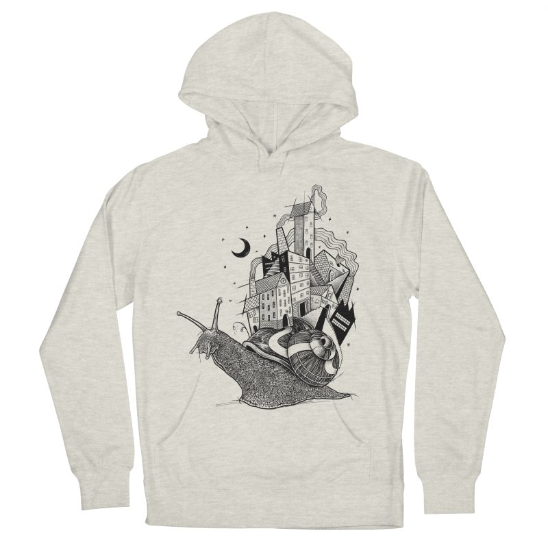 Slow Night And Imaginary Lights Women's Pullover Hoody by Michele_Nolli's Artist Shop