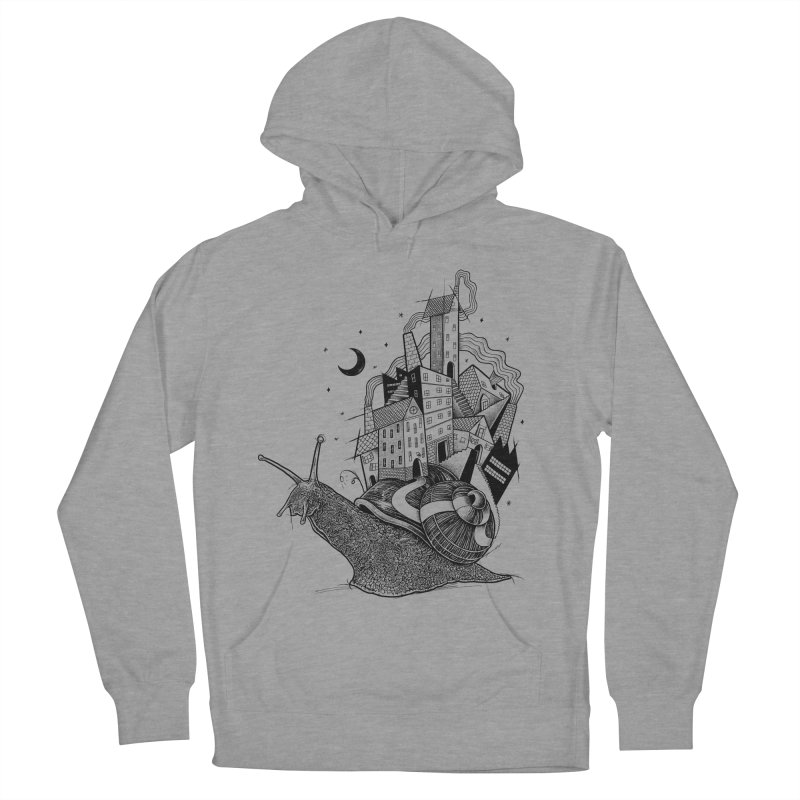 Slow Night And Imaginary Lights Men's Pullover Hoody by Michele_Nolli's Artist Shop