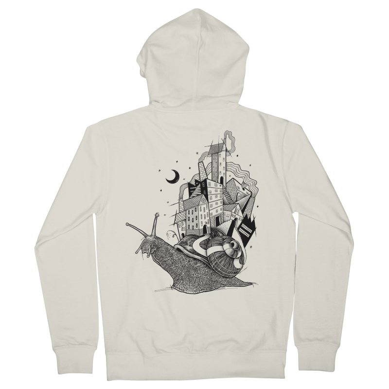 Slow Night And Imaginary Lights Women's Zip-Up Hoody by Michele_Nolli's Artist Shop