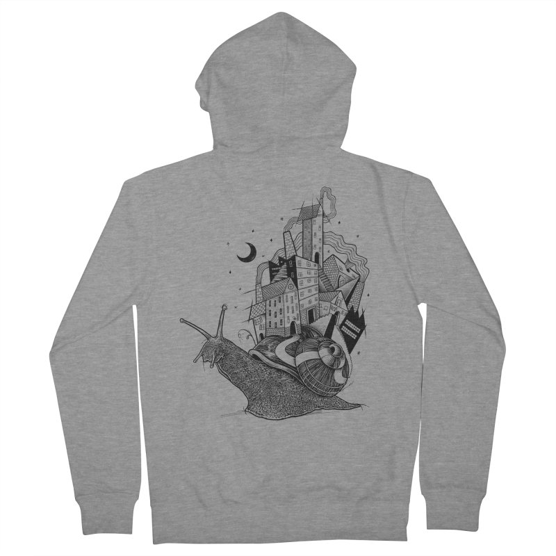 Slow Night And Imaginary Lights Men's Zip-Up Hoody by Michele_Nolli's Artist Shop