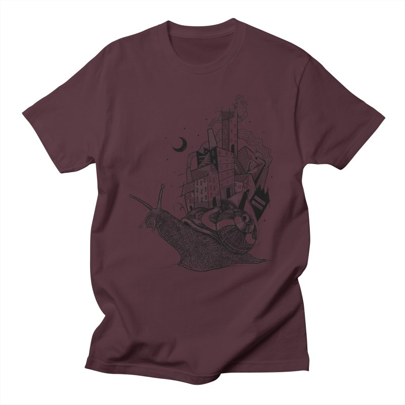 Slow Night And Imaginary Lights Men's T-Shirt by Michele_Nolli's Artist Shop