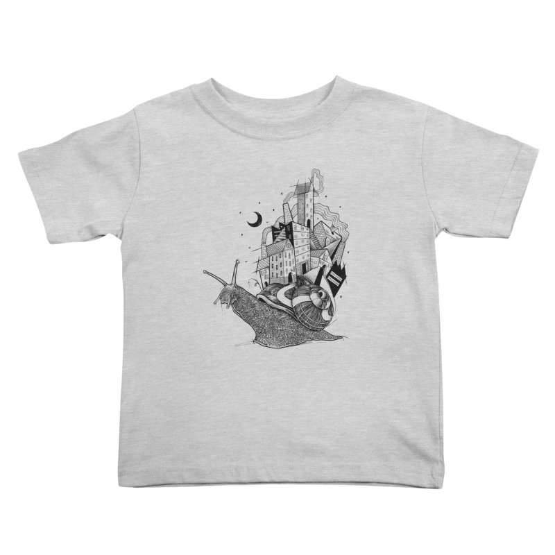 Slow Night And Imaginary Lights Kids Toddler T-Shirt by Michele_Nolli's Artist Shop