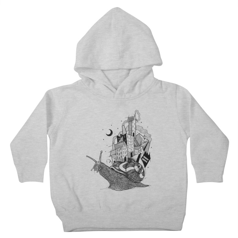 Slow Night And Imaginary Lights Kids Toddler Pullover Hoody by Michele_Nolli's Artist Shop