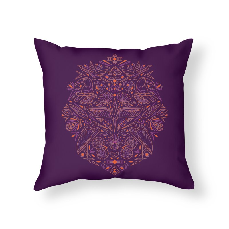 Tropic design Home Throw Pillow by nodyt's Artist Shop