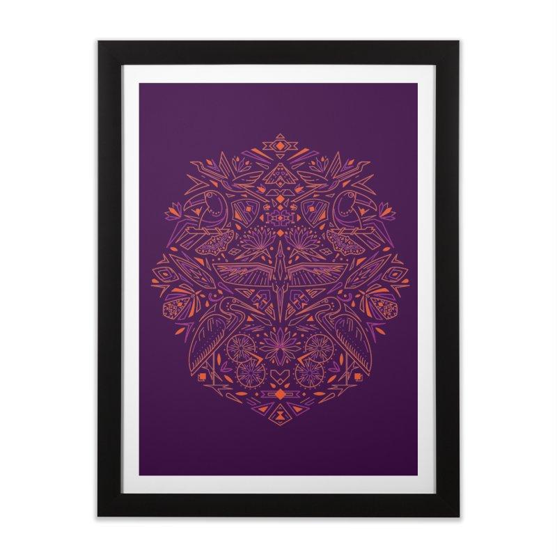 Tropic design Home Framed Fine Art Print by nodyt's Artist Shop