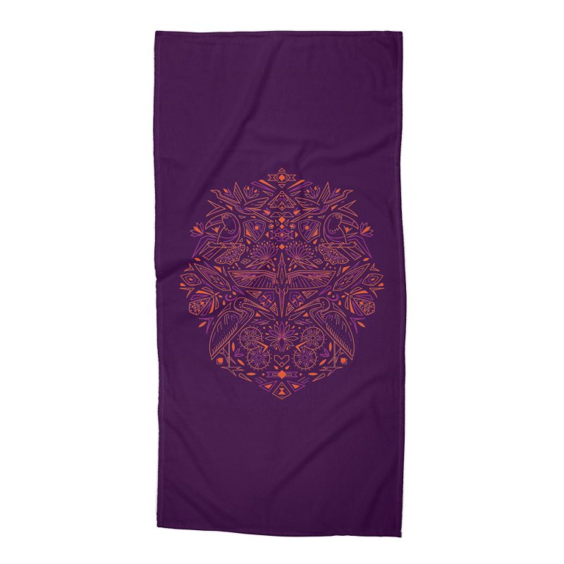 Tropic design Accessories Beach Towel by nodyt's Artist Shop