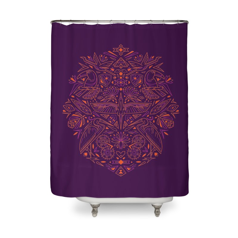 Tropic design Home Shower Curtain by nodyt's Artist Shop