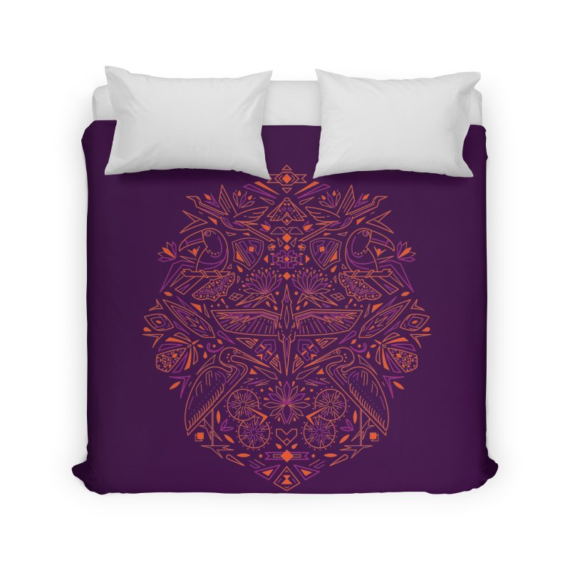 Tropic design Home Duvet by nodyt's Artist Shop