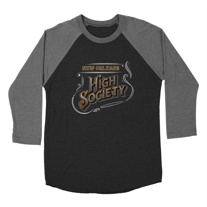 New Orleans High Society Men's Longsleeve T-Shirt by nohighsociety's Artist Shop