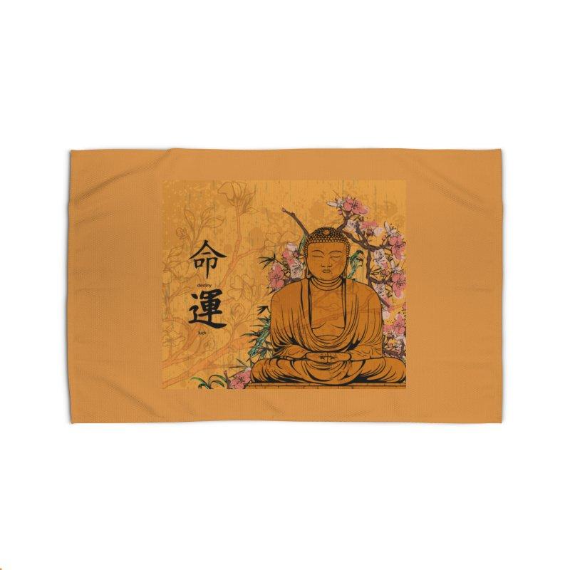 Divine Buddha Home Rug by Noir Designs