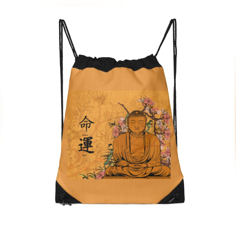 Divine Buddha Accessories Bag by Noir Designs