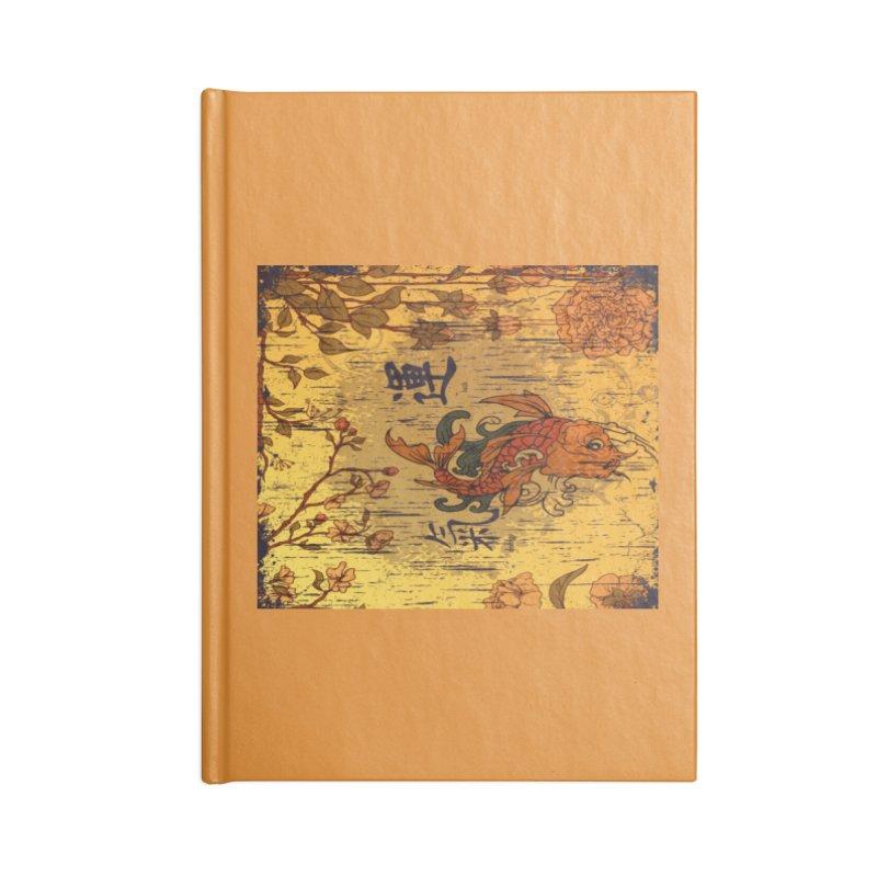 Divine Koi Fish Accessories Notebook by Noir Designs