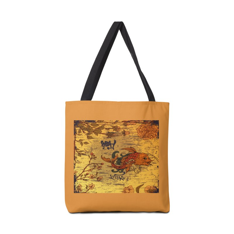 Divine Koi Fish Accessories Bag by Noir Designs
