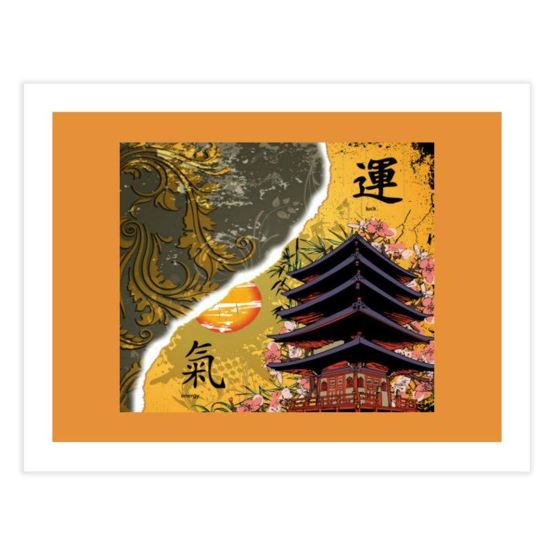 Divine Shrine Home Fine Art Print by Noir Designs