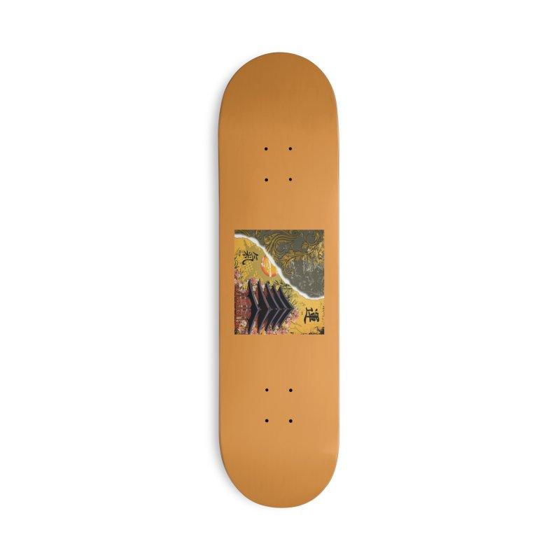 Divine Shrine Accessories Skateboard by Noir Designs