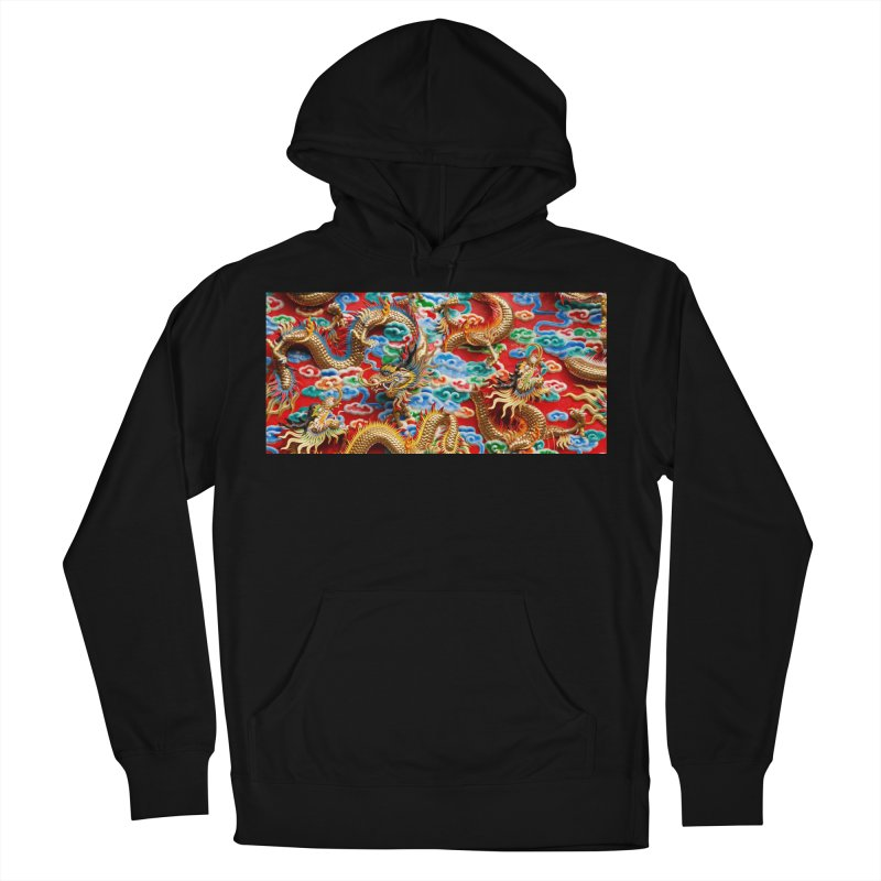 Dragons Ball Women's French Terry Pullover Hoody by Noir Designs