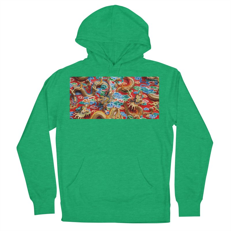 Dragons Ball Men's French Terry Pullover Hoody by Noir Designs