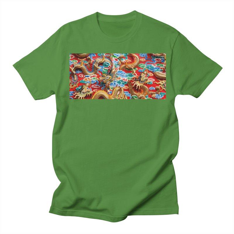 Dragons Ball Women's Regular Unisex T-Shirt by Noir Designs