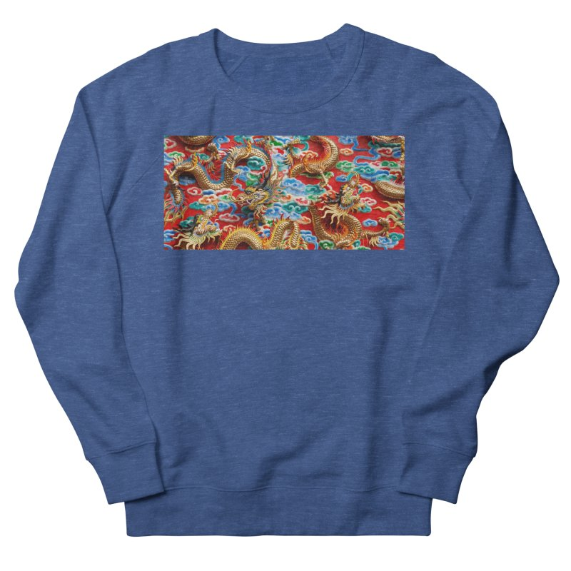 Dragons Ball Men's French Terry Sweatshirt by Noir Designs