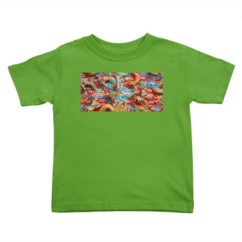 Dragons Ball Kids Toddler T-Shirt by Noir Designs