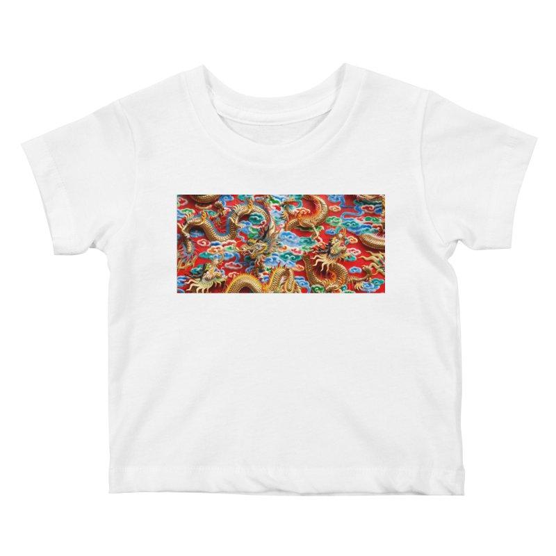 Dragons Ball Kids Baby T-Shirt by Noir Designs