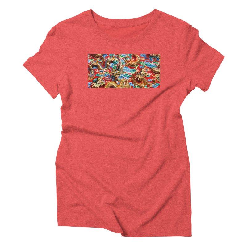 Dragons Ball Women's Triblend T-Shirt by Noir Designs