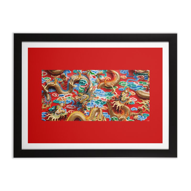 Dragons Ball Home Framed Fine Art Print by Noir Designs