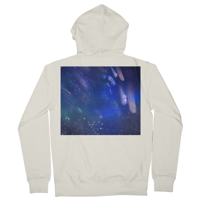 Out of This World Women's French Terry Zip-Up Hoody by Noir Designs