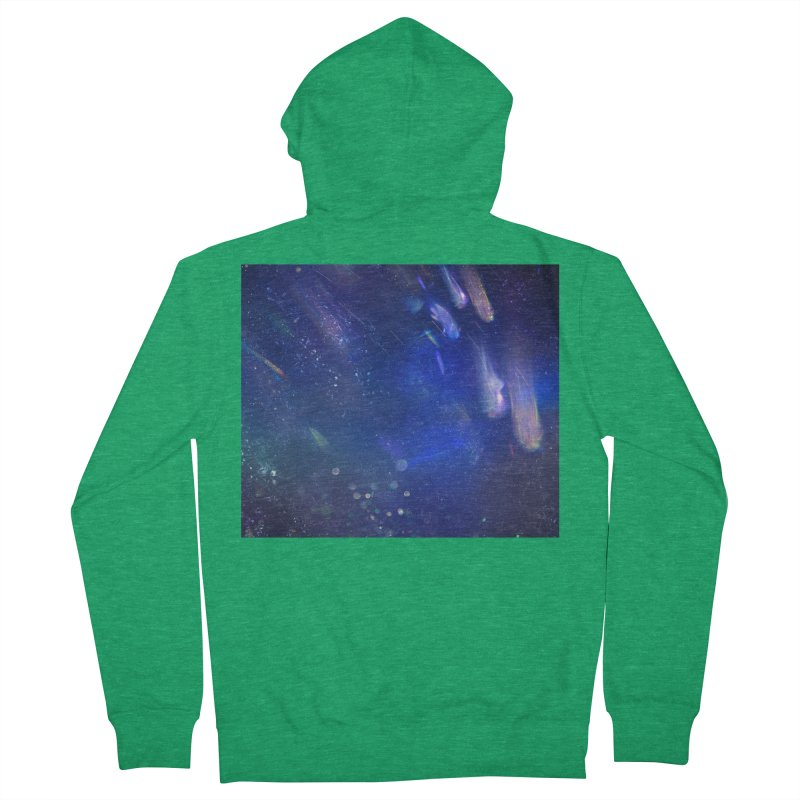 Out of This World Men's French Terry Zip-Up Hoody by Noir Designs