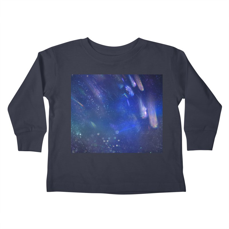 Out of This World Kids Toddler Longsleeve T-Shirt by Noir Designs